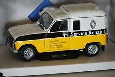 Renault R4L F4 1975 Service Renault 1:18 Solido 1802202 neu + OVP