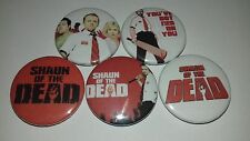 5 Shaun of the Dead pin Button badges Fulci Day Dawn Night of Land Survival Gore