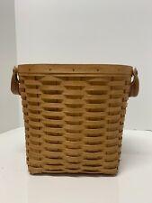 Longaberger Woodcrafts Basket W/ Handle