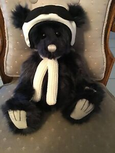 """Pilot Pete CHARLIE BEARS 2019 LIMITED EDITION PLUSH BEAR  * 11"""" NEW WITH TAGS"""