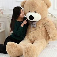Giant Big Teddy Bear Plush Baby Soft Toys Doll Stuffed Animal Gift Free Shipping
