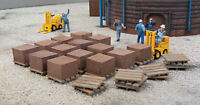 Walthers Cornerstone HO Scale Building/Structure Kit Brick Stacks