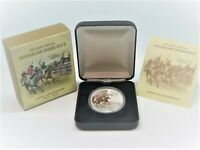 2010 FIRST HORSE RACE Silver Proof Coin