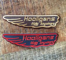 Cafe Racer Scrambler Hooligan Patch
