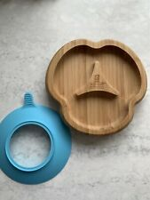 Bamboo Bamboo Divide Kids Plate Good Condition