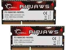 G.SKILL F3-1600C9D-16GRSL 16GB KIT ( 2x8GB ) SO-DIMM Laptop RAM DDR3 PC3-12800