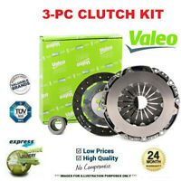 VALEO 3-PC CLUTCH KIT for TOYOTA AVENSIS Berlina 2.0 VVTi 2003-2008