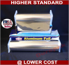 """12"""" 1000 feet Aluminum Foil Film Wrap w/ Dispenser Box Food Wrapping Packing"""