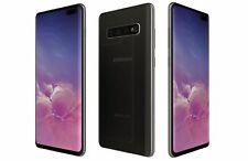 New listing New Black Verizon Gsm Unlocked 128Gb Samsung Galaxy S10+ G975U Phone Kl20