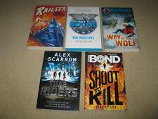 Lot Bundle Childrens Adventure Action Thriller Books Young Bond Bear Grylls
