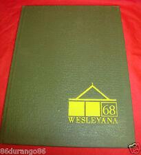 ILLINOIS WESLEYAN UNIVERSITY 1968 YEARBOOK BLOOMINGTON ILLINOIS