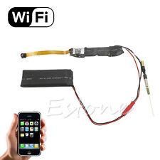 Mini Wifi Wireless Module DVR Video IP P2P Recorder Hidden HD 1080P SPY Camera