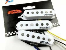 SET DI 3 PICK UP WILKINSON WVS SINGLE COIL PER FENDER STRATOCASTER ALNICO BIANCO
