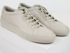 NEW COMMON PROJECTS ACHILLES ORIGINAL LOW Carta Grey Leather 42 EU