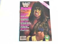 WWF Magazine 1989 November The Ultimate Warrior Regains The Gold!! WWE WCW nWo