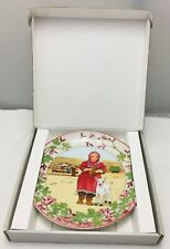Villeroy & and Boch OUR CHILDREN UNICEF No5 Afghanistan plate BOXED