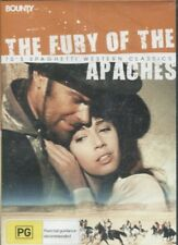 THE FURY OF THE APACHES - Frank Latimore, Nuria Torray, Jesús Puente - DVD
