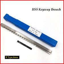 Keyway Broach 4mm B Push Type Metric Size Involute Spline Cutter Machine Tool