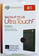 Seagate External Hard Drive 2TB (New model, Backup Plus Ultra Touch)
