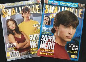 Smallville Magazine # 1 Oct 2004 1st Issue Tom Welling, Kristin Kreuk Both Cover