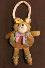 Plush Brown Bear Little Girls Stuffed Animal Handbag