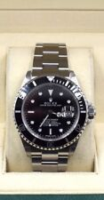 Rolex Submariner Date 16610 T No Holes Steel Watch  2005 Series D Mint Condition