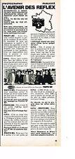 PUBLICITE ADVERTISING 054  1974  PHOTO BIS  l'AVENIR DES REFLEX