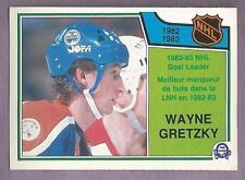 1983-84 OPC Wayne Gretzky Edmonton Oilers '82-'83 Goal Leader #215