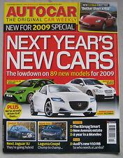 Autocar 10/12/2008 featuring Renault Laguna Coupe GT road test