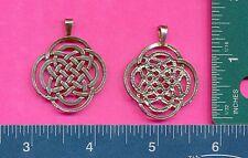 12 wholesale lead free pewter celtic knot pendants 5009