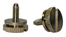 CB Mobile Radio knobs speaker pair KN 5mm SIDE THUMB SCREWS For Motorola