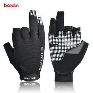 Fishing Gloves Non-slip Hand Guard with Reflective Logo Outdoor Fishing Gloves