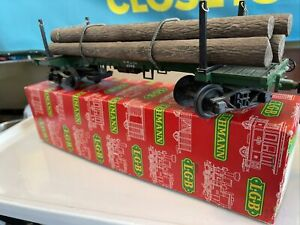 LGB 4066 Four-Axle Log Car *G-Scale*  With Original Box In Excellent Condition