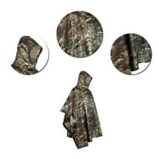 Multi-function Outdoor Rain Coat Cloak Tent Poncho Rain Gear Rainwear