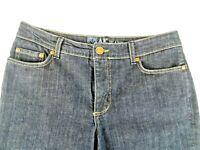 AK Jeans - Anne Klein womens Capri Five Pocket Size 10 Waist 29 Regular