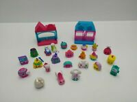 Shopkins 2 x Buildings & 24 x Shopkins - Pre-owned