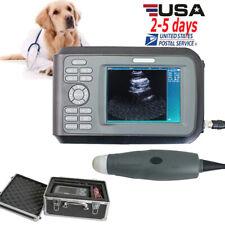 55 Handheld Vet Veterinary Animal Ultrasound Scanner Machine 35mhz Probe Fda