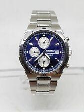 seiko chronograph alarm 7t62 0fy0 watch 39mm