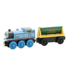 NEW THOMAS & THE FLOUR CAR Wooden Railway Thomas the Tank Engine Train & Friends
