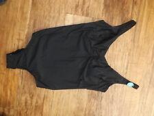 M&S BLACK SWIMMING COSTUME SIZE 40E 40 E LADIES BRAND NEW TUMMY CONTROL