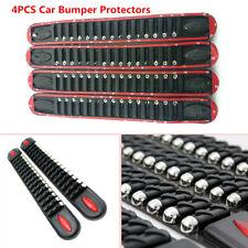 4Pcs Adhesive Car Bumper Corner Guard Protector Anti-collision Trim Rubber Strip
