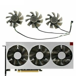 75MM FD8015H12S 12V 0.32A Replacement Cooling Fans For Amd Xfx Radeon VII Cards
