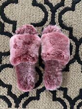 EMU Australia Faux Sheepskin Slippers Womens Sz 11 Berry-From Free People Online
