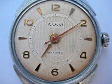 1960 SOVIET RUSSIAN MILITARY ALMAZ Vostok Watch