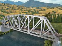 Walthers Cornerstone Arched Pratt Truss Bridge Kit Single Track HO Scale