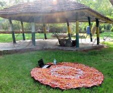 Star mandala tapestry cotton round hippie towel table cloth beach outdoor throw