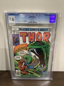 The Mighty Thor #273 CGC 9.6 1ST APPEARANCEOF RED NORVELL