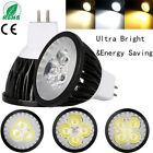 3W 9W 15W Dimmable LED Spot Lights GU10 MR16 GU5.3 Bulb CREE/Epistar Bright Lamp