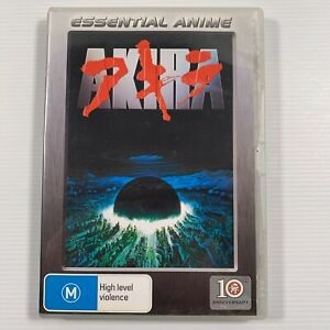 Akira (DVD 2001) Remastered 1987 anime Region 4