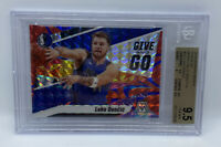 2019-20 Mosaic Luka Doncic Give and Go /99 Blue Reactive Prizm BGS 9.5 GEM MINT